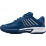 K-Swiss Junior Hypercourt Express 2 Kids' Tennis Shoes (Dark Blue/Bittersweet/White)