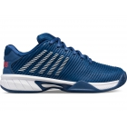 K-Swiss Junior Hypercourt Express 2 Kids' Tennis Shoes (Dark Blue/Bittersweet/White) - K-Swiss Junior Tennis Shoes