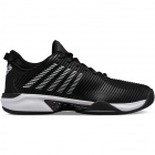 K-Swiss Men's Hypercourt Supreme Tennis Shoes, Black/White -