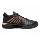 K-Swiss Men's Hypercourt Supreme Tennis Shoes (Black/Soft Neon Orange) - Shop the Best Selection of Tennis Shoes for Any Court Surface