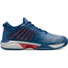 K-Swiss Men's Hypercourt Supreme Tennis Shoes (Dark Blue/Glacier Gray/Bittersweet) -