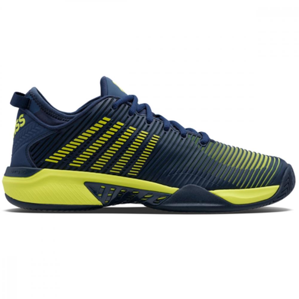 06615-417 K-Swiss Men's Hypercourt Supreme Tennis Shoes (Moonlit Ocean/Love Bird)