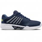 K-Swiss Men's Hypercourt Express 2 2E Tennis Shoes (Moonlit Ocean/White/Love Bird) -