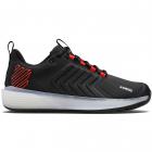 K-Swiss Men's Ultrashot 3 Tennis Shoes (Black/White/Poppy Red) -
