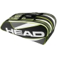 Head Elite 9R Supercombi Tennis Bag (Black/Anthracite) - 9 and 12+ Racquet Tennis Bags