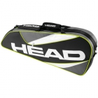 Head Elite 3R Pro Tennis Bag (Black/Anthracite) - 3 Racquet Tennis Bags