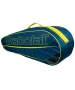 Babolat Club Line Racquet Holder x6 (Blue/Yellow)  - Babolat Club Tennis Bags