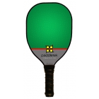 Paddletek Power Play Pro Paddle (Green) - Tennis Court Equipment