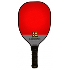 Paddletek Power Play Pro Paddle (Red) - Tennis Court Equipment