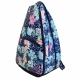 All For Color Midnight Blooms Tennis Backpack - All for Color Tennis Bags