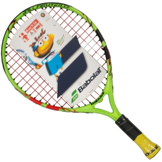 Babolat Ballfighter 17 Inch Child's Tennis Racquet with Red Felt or Foam Play & Stay Tennis Balls