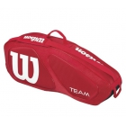 Wilson Team II Red 3 Pack Tennis Bag (Red/ White) - Wilson