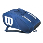 Wilson Team II Navy 12 Pack Tennis Bag (Navy/White) - Wilson