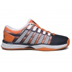 K-Swiss Men's Hypercourt Tennis Shoes (Black/Vibrant Orange/Graphic Print) - K-Swiss