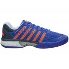 K-Swiss Men's Hypercourt Express Tennis Shoes (Electric Blue/Safety Orange) - K-Swiss