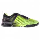 Adidas Men's adizero Ubersonic Tennis Shoes (Black/ Green/ Pink) - Adidas adiZero