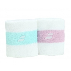Babolat Reversible Wristband (White) - Babolat Headbands & Wristbands