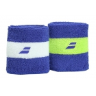 Babolat Reversible Wristband (Blue) - Babolat Headbands & Wristbands