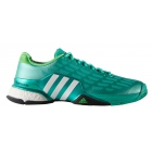 Adidas Men's Barricade 2016 Boost Tennis Shoes (Mint/ White/ Lime) - Adidas Barricade Tennis Shoes
