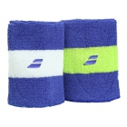 Babolat Reversible Jumbo Wristband (Blue) - Babolat Headbands & Wristbands