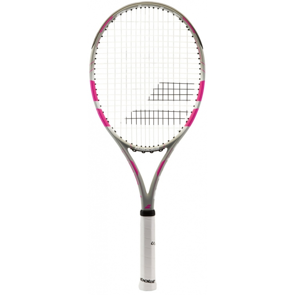 babolat flow lite tennis racquet grey pink do it tennis. Black Bedroom Furniture Sets. Home Design Ideas