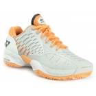 Yonex Women's Power Cushion Eclipsion Tennis Shoe (Grey/Orange) - Yonex Tennis Shoes