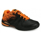 Prince Men's Warrior Lite Tennis Shoes (Black/Orange) - Prince Tennis Shoes