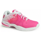 Prince Women's Warrior Lite Tennis Shoes (Pink/White) - Prince Tennis Shoes