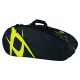 Volkl Team Combi 6-Pack Tennis Bag (Black/Yellow) - New Volkl Racquets and Bags