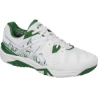 Asics Men's Gel Resolution 6 London Tennis Shoes (White/Silver/Green) - Asics Tennis Shoes