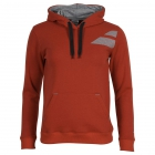 Babolat Boys' Core Tennis Hoodie (Red) - Boy's Tennis Apparel