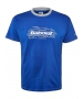 Babolat Men's Core Training Tennis Tee (Dark Blue) - Babolat Tennis Apparel