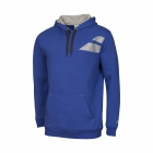 Babolat Boys' Core Tennis Hoodie (Dark Blue) - Boy's Tennis Apparel