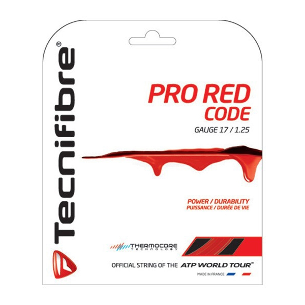 Tecnifibre Pro Red Code 17g Tennis String (Set)