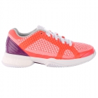 Adidas Women's Stella McCartney Barricade Boost Tennis Shoe (Red/White/Purple) - New Tennis Shoes
