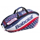 Babolat Pure Aero Stars & Stripes 12 Pack Tennis Bag - Babolat Tennis Racquets, Shoes, Bags and More #TennisRunsInOurBlood