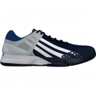 Adidas Men's Adizero Ubersonic Clay Court Tennis Shoes (Navy/White/Blue) - Adidas adiZero