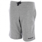 Babolat Boys' Core Shorts (Light Grey) - New Style Tennis Apparel