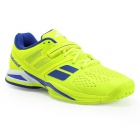 Babolat Men's Propulse All Court Tennis Shoes (Yellow/Blue) - Babolat Propulse Tennis Shoes