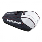 Head 2017 Djokovic Series 9R SuperCombi Tennis Bag - Head Djokovic Backpack & Tennis Bag Series