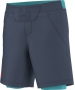 Adidas Men's adiZero Short (Dark Blue/ Green) - Men's Shorts Tennis Apparel