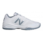 New Balance Women's WC896WB1 (B) Tennis Shoes (White/Silver) - Tennis Shoes