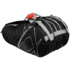 Volkl Tour Mega Tennis Bag (Black / Silver) - Volkl Tennis Bags and Backpacks