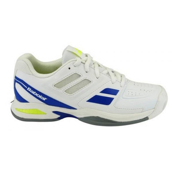 babolat propulse team all court junior tennis shoes white