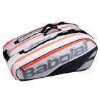 Babolat Pure Strike Racquet Holder x12 (White) - Babolat Pure Tennis Bags