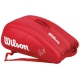 Wilson Federer DNA 12 Pack Tennis Bag (Red) - MAP Products