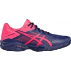 Asics Women's Gel-Solution Speed 3 Tennis Shoes (Blue/Pink) - Tennis Shoes