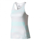 Adidas Women's Advantage Trend Tennis Tank (Grey/Aqua) - Adidas Women's Tennis Shirts - Tops and Tanks