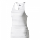 Adidas Women's Advantage Trend Tennis Tank (White/Grey) - MAP Products