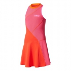 Adidas Girls' Stella McCartney Barricade Tennis Dress (Core Red/Shock Pink) - Adidas Tennis Apparel